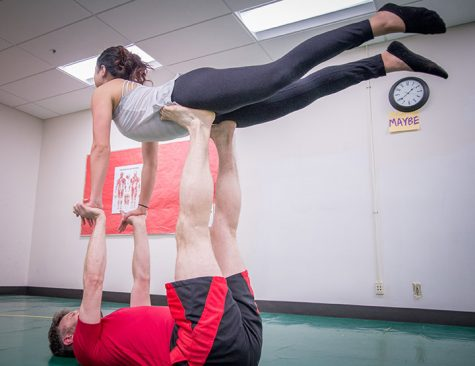 Want to Fly?  Shoreline Acro Movement Club Makes a Base at SCC