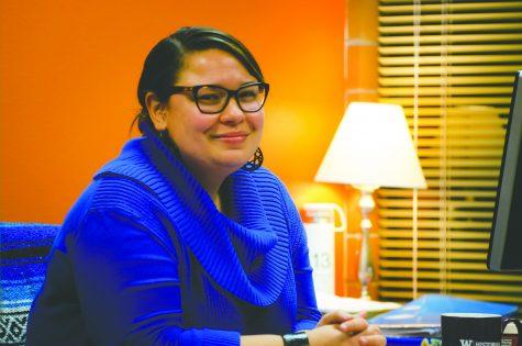 Jessica Gonzalez, outgoing Tutoring Services program manager.