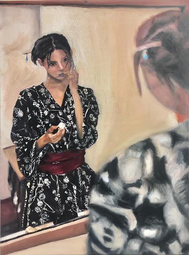 """Woman in the Mirror"" by Xin Yu Gao"