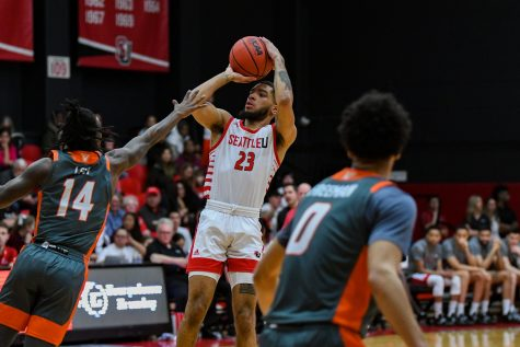 Seattle U Men's Basketball vs. UTRGV - Jan. 16, 2019 - Redhawk Center