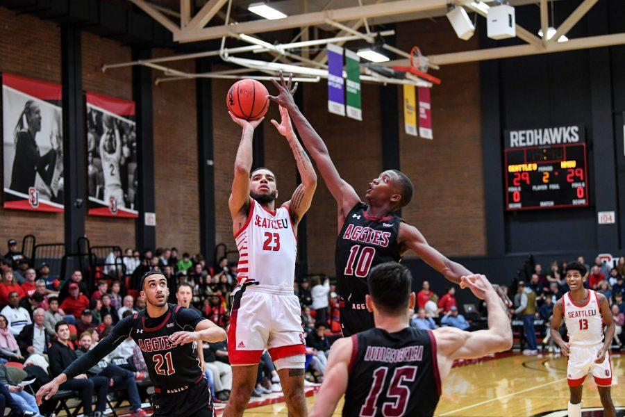 Terrell Brown - Seattle U Men's Basketball vs. New Mexico State - Jan. 18, 2020