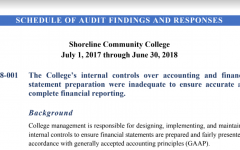 State Finds SCC Lax on Accounting Standards