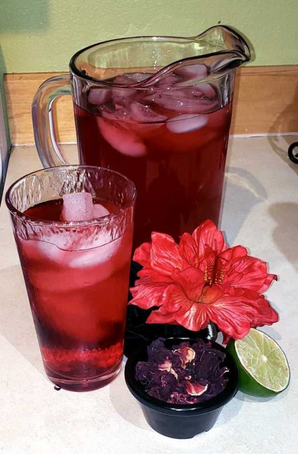 Hibiscus+iced+tea