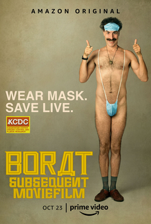 Borat Subsequent Movie Film, Amazon Original