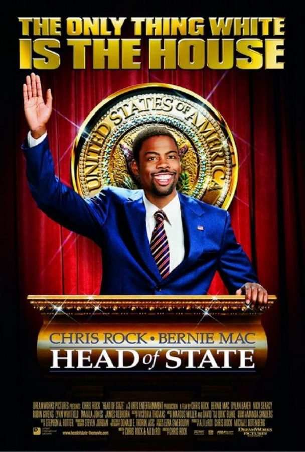 'Head of the State' movie poster, starring Chris Rock & Bernie Mac