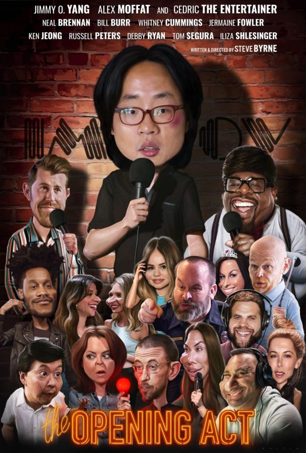 'The Opening Act' starring Jimmy O. Yang, Alex Moffat and Cedric the Entertainer