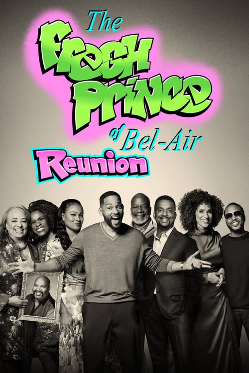 'Fresh Prince of Bel-Air Reunion' (2020), starring Tatyana Ali, James Avery, Ross Bagley.