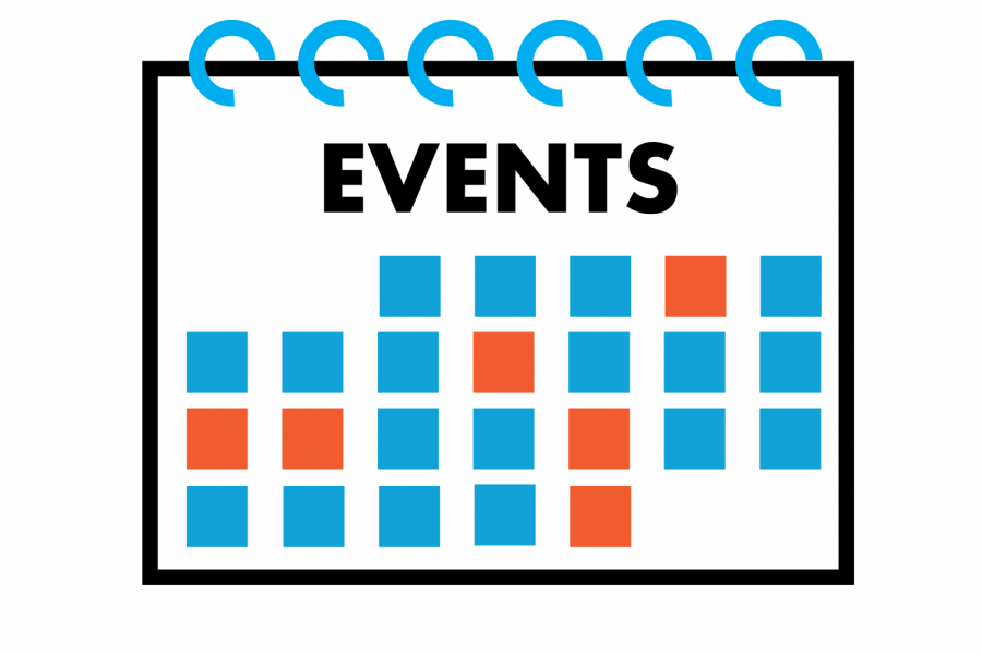 events calendar graphic