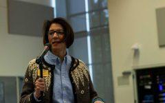 SCC President Cheryl Roberts speaks at a budget meeting on Dec. 5, 2019.