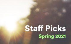 The Ebbtide on Spotify: Spring 2021 Staff Picks