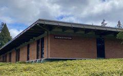 SCC's administration building, photographed April 30, 2021.