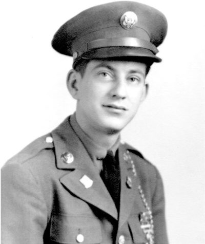 Sgt. Alfred Turgeon pictured during his military service, circa 1940s.