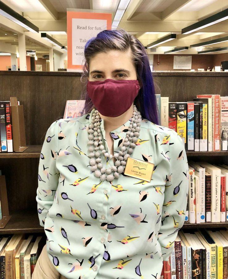 SCC Priority Associate Librarian Lauren Bryant